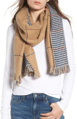 BP Reversible Houndstooth & Grid Scarf