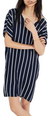 Madewell Stripe Plaza Dress