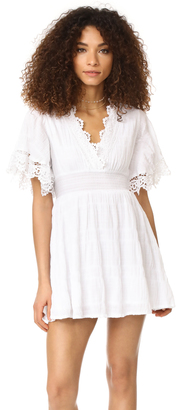 BB Dakota Ethel Smocked Waist Dress $100 thestylecure.com