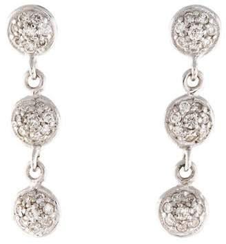 Gurhan Diamond Triple Drop Earrings