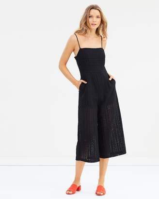 MinkPink Fifth Avenue Cropped Jumpsuit