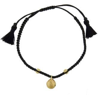 Ileana Makri EYE M by Jingle Bell Black Cord Bracelet