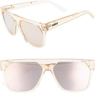 Quay x Jaclyn Hill Very Busy 58mm Shield Sunglasses