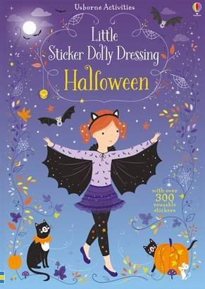 Fiona Watt Little Sticker Dolly Dressing Halloween