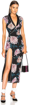 Fleur Du Mal Long Dress with Slit
