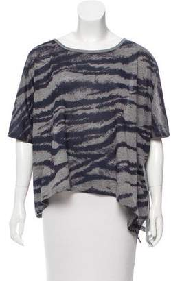 Torn By Ronny Kobo Oversize Short Sleeve Top
