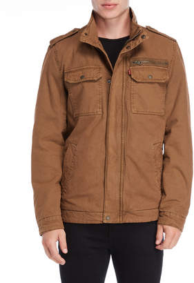 Levi's Sherpa Lined Hooded Utility Jacket