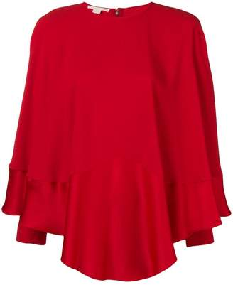 Antonio Berardi long sleeve draped blouse