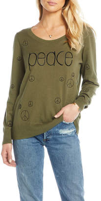 Chaser Cotton Cashmere Crew Neck Pullover