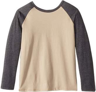 4Ward Clothing Long Sleeve Raglan Shirt - Reversible Front/Back Kid's T Shirt