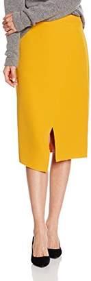 Mexx Women's MX3024224 Midi Asymmetric Skirt,(Manufacturer Size: 38)