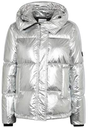 Kenzo Silver Quilted Shell Jacket