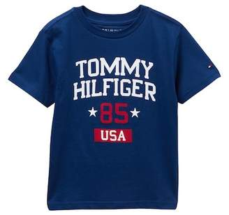 Tommy Hilfiger Willis Short Sleeve Tee (Toddler Boys)