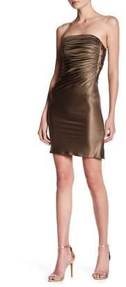 Sky Beaded Side Tube Dress