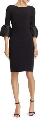 Lauren Ralph Lauren Taffeta-Jersey Dress
