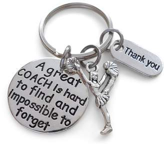 Coach JewelryEveryday Cheerleading Gift, Appreciation Gift, A Great is Impossible to Forget