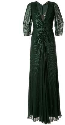 Jenny Packham embellished maxi dress