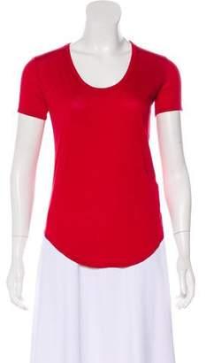 Helmut Lang Scoop Neck Short Sleeve T-Shirt
