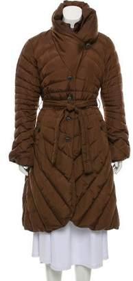 Armani Collezioni Knee-Length Puffer Coat