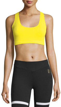Monreal London Essential Sports Performance Bra w/o Cups $119 thestylecure.com
