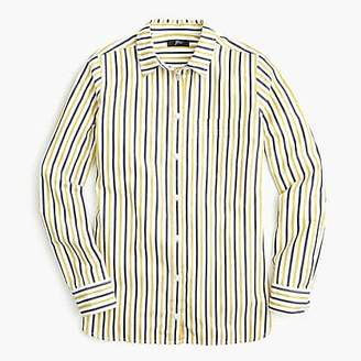 J.Crew Classic-fit boy shirt in trifecta stripe