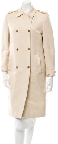 ValentinoValentino Textured Trench Coat