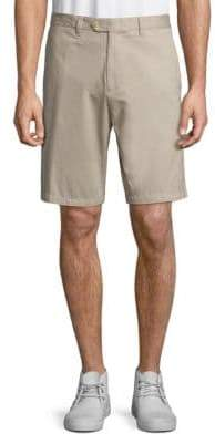 Saks Fifth Avenue COLLECTION Tailored Cotton Shorts
