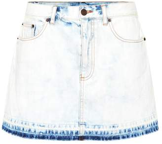 Marc Jacobs Denim miniskirt