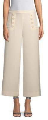St. John Bella Double Weave Wide Leg Pants