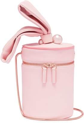 Sophia Webster 'Bonnie' faux pearl leather crossbody bucket bag