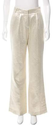 Camilla High-Rise Metallic Pants