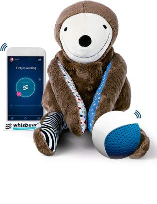 Whisbear(R) E-zzy the Sloth Baby Sleep Machine