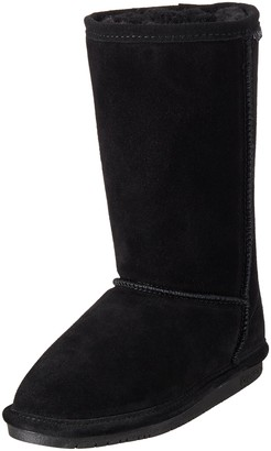BearPaw Emma Tall Youth Boot,Black