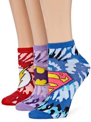 Asstd National Brand Womens 2 Pk Novelty Low Cut Sock