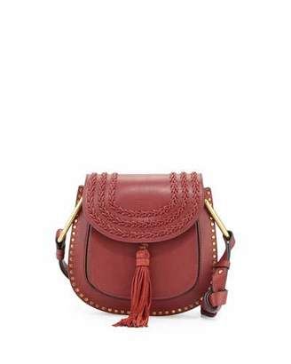 Chloe Hudson Small Leather Shoulder Bag, Black $2,150 thestylecure.com