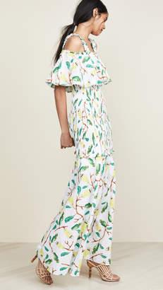 Isolda Floral Sleeveless Dress