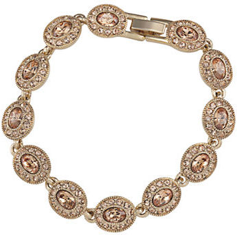 Carolee Carolee Gold-Plated Oval Flex Bracelet
