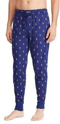 Polo Ralph Lauren Printed Cotton Jogger Pants