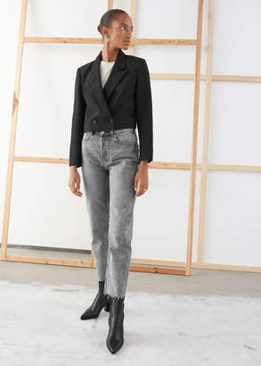 And other stories Straight Mid Rise Jeans