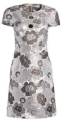 Michael Kors Women's Embroidered Flower Dress
