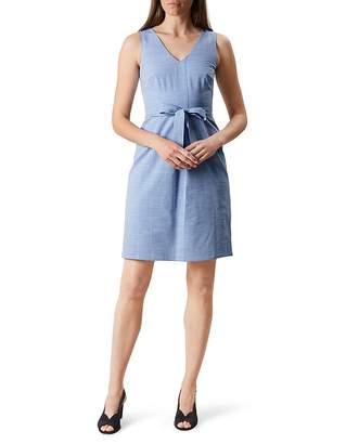 HOBBS LONDON Alison Striped Dress $225 thestylecure.com