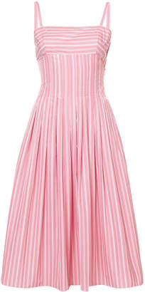 Rosetta Getty pleat camisole dress