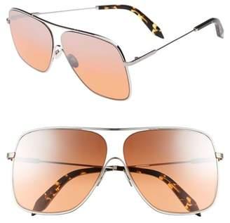Victoria Beckham Loop 61mm Navigator Sunglasses