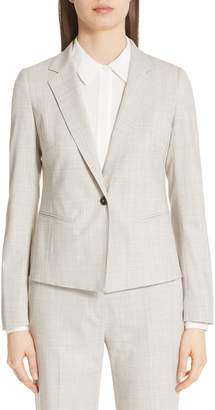Max Mara Albert Stretch Wool Jacket