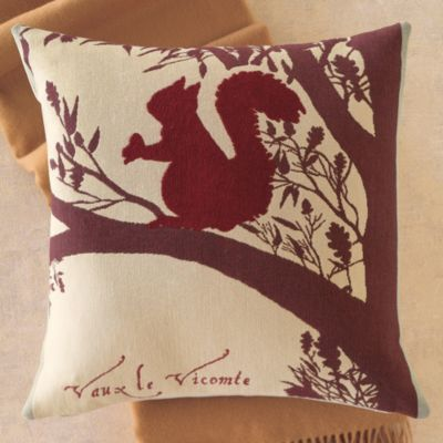 Squirrel Tapestry Pillow