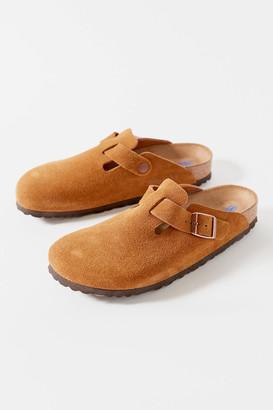 Birkenstock Boston Soft Footbed Suede Clog