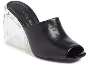 3.1 Phillip Lim Transparent Wedge Slide Sandal