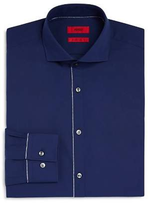 HUGO Jimmy Outer Button Panel Slim Fit Dress Shirt