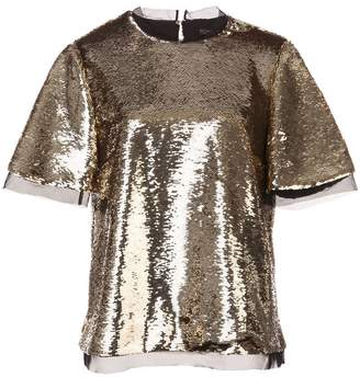 Rachel Zoe sequinned blouse