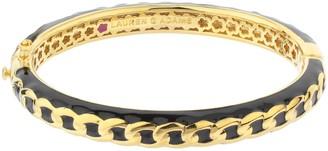 Ralph Lauren G. Adams G Adams Goldtone Colored Enamel Chain Link Bangle